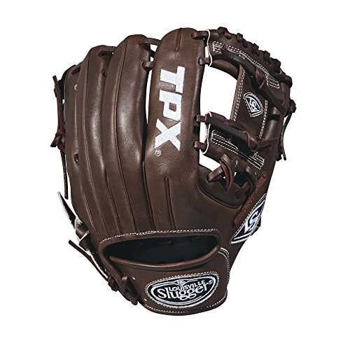 グローブ 内野手用ミット ルイビルスラッガー 野球 ベースボール WTLPXRB181152 Louisville Slugger 2018 Tpx Infield Baseball Glove - Right Hand Throw Dark Brown/White, 11.5