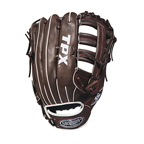 グローブ 外野手用ミット ルイビルスラッガー 野球 ベースボール WTLPXRB181275 Louisville Slugger 2018 Tpx Outfield Baseball Glove - Right Hand Throw Dark Brown/Red, 12.75