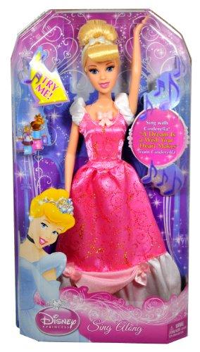 シンデレラ ディズニープリンセス V1291 / V1293 Disney Princess Cinderella Sing Along Dollシンデレラ ディズニープリンセス V1291 / V1293