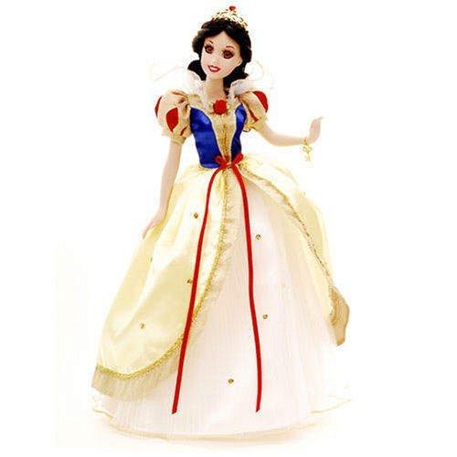 白雪姫 スノーホワイト ディズニープリンセス Snow White Enchanted Tales Porcelain Doll with Brass Key Keepsake白雪姫 スノーホワイト ディズニープリンセス