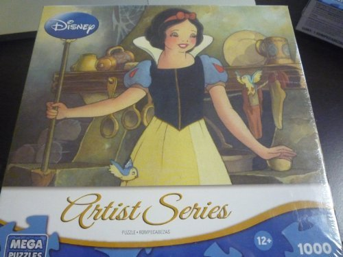 白雪姫 スノーホワイト ディズニープリンセス Mega Puzzles, Disney Artist Series, Portrait of Innocence [Snow White and the Seven Dwarfs], 1,000 Pieces by Mega Puzzles白雪姫 スノーホワイト ディズニープリンセス