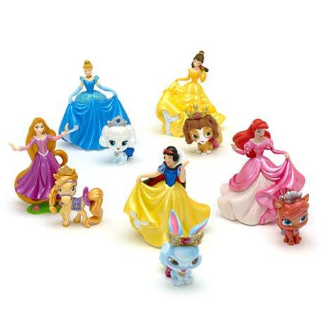 塔の上のラプンツェル タングルド ディズニープリンセス Disney Princesses and Palace Pets Deluxe Figurine Playset - Rapunzel, Snow White, Belle, Cinderella and Ariel with pets by Disney塔の上のラプンツェル タングルド ディズニープリンセス