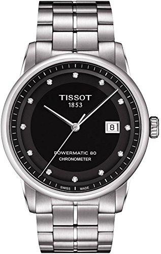 ティソ 腕時計 メンズ T0864081105600 Tissot Luxury Automatic Diamond Markersティソ 腕時計 メンズ T0864081105600