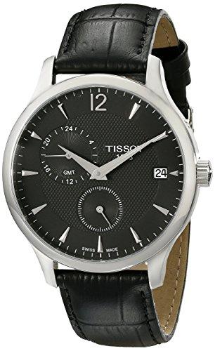 ティソ 腕時計 メンズ T0636391605700 Tissot Men's T0636391605700 Analog Display Quartz Black Watchティソ 腕時計 メンズ T0636391605700