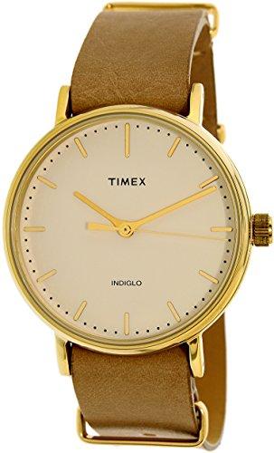 タイメックス 腕時計 レディース TW2P98400 Timex Women's TW2P98400 Tan Leather Quartz Fashion Watchタイメックス 腕時計 レディース TW2P98400