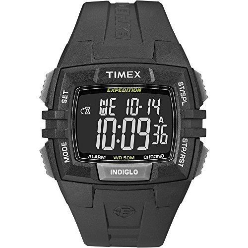 タイメックス 腕時計 メンズ T49900 Timex Expedition Chronograph Digital Dial Black Resin Mens Watch T49900タイメックス 腕時計 メンズ T49900
