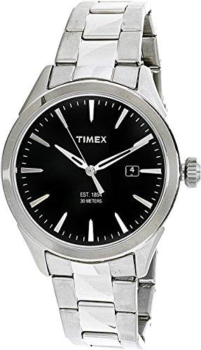 タイメックス 腕時計 メンズ TW2P77300 Timex Men's TW2P77300 Silver Stainless-Steel Analog Quartz Fashion Watchタイメックス 腕時計 メンズ TW2P77300