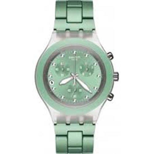 スウォッチ 腕時計 レディース Swatch Chronograph Aluminum Ladies Watch - SVCK4056AGスウォッチ 腕時計 レディース
