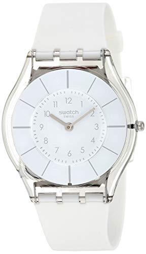 スウォッチ 腕時計 レディース SFK360 Swatch 1101 Lifestyle Quartz Silicone Strap, White, 16 Casual Watch (Model: SFK360)スウォッチ 腕時計 レディース SFK360