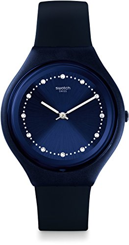 スウォッチ 腕時計 レディース SVUN100 【送料無料】Swatch Skin Quartz Movement Blue Dial Unisex Watch SVUN100スウォッチ 腕時計 レディース SVUN100
