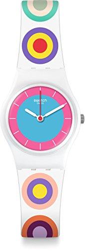 スウォッチ 腕時計 レディース LW153 Swatch Women's Originals LW153 White Multicolor Rubber Swiss Quartz Fashion Watchスウォッチ 腕時計 レディース LW153