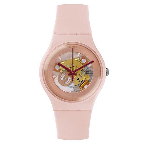 スウォッチ 腕時計 レディース 夏の腕時計特集 SUOP107 【送料無料】Swatch Women's New Gent SUOP107 Rose Silicone Swiss Quartz Watchスウォッチ 腕時計 レディース 夏の腕時計特集 SUOP107