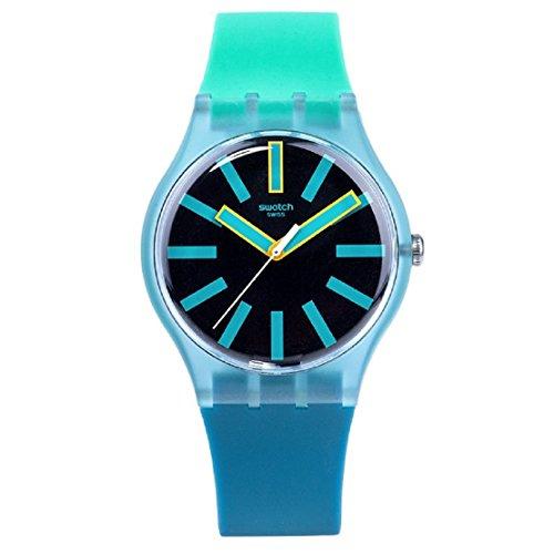 スウォッチ 腕時計 メンズ SUOS105 【送料無料】Swatch Men's Flashwheel SUOS105 Blue Rubber Swiss Quartz Fashion Watchスウォッチ 腕時計 メンズ SUOS105