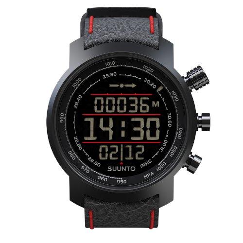 スント 腕時計 アウトドア メンズ アウトドアウォッチ特集 SS019171000 Suunto Elementum Terra Black/Red Leatherスント 腕時計 アウトドア メンズ アウトドアウォッチ特集 SS019171000