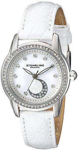 ストゥーリングオリジナル 腕時計 レディース 561.01 Stuhrling Original Women's 561.01 Countess Analog Display Quartz White Watchストゥーリングオリジナル 腕時計 レディース 561.01