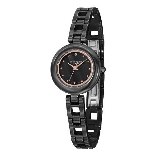 ストゥーリングオリジナル 腕時計 レディース 921.03 Stuhrling Original Women's 921.03 Le Petit Date Blackストゥーリングオリジナル 腕時計 レディース 921.03