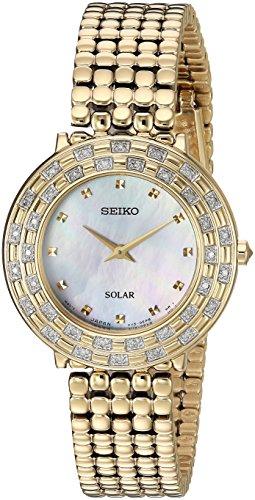 セイコー 腕時計 レディース SUP374 【送料無料】Seiko Women's TRESSIA Japanese-Quartz Watch with Gold-Tone-Stainless-Steel Strap, 13 (Model: SUP374)セイコー 腕時計 レディース SUP374