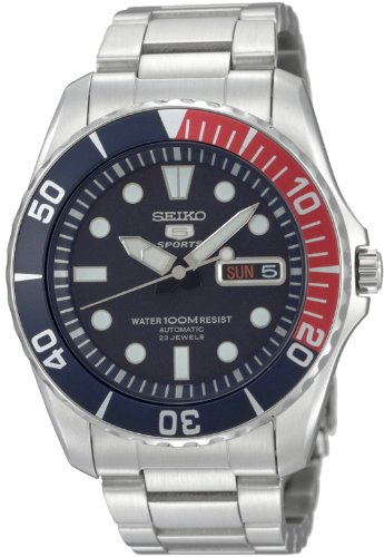 セイコー 腕時計 メンズ SNZF15 Seiko Men's SNZF15 Seiko 5 Automatic Blue Dial Stainless-Steel Bracelet Watchセイコー 腕時計 メンズ SNZF15