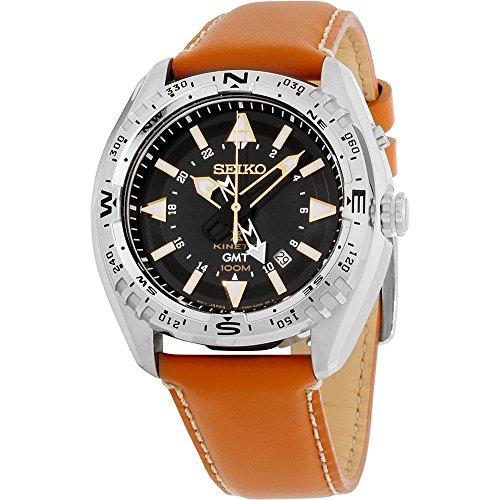 セイコー 腕時計 メンズ SUN055 Seiko SUN055 Men's X Prospex Stainless Steel Orange Leather Strap Band Black Dial Watchセイコー 腕時計 メンズ SUN055, イルマグン:e1c04d6f --- ichihime.jp