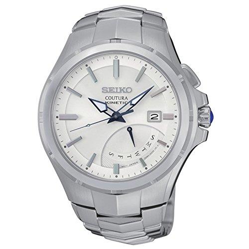 セイコー 腕時計 メンズ SRN063 Seiko SRN063 Men's Coutura Silver Bracelet Band White Dial Watchセイコー 腕時計 メンズ SRN063
