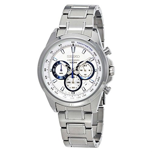 セイコー 腕時計 メンズ SSB239P1 Seiko Neo Sports Chronograph White Dial Mens Watch SSB239セイコー 腕時計 メンズ SSB239P1