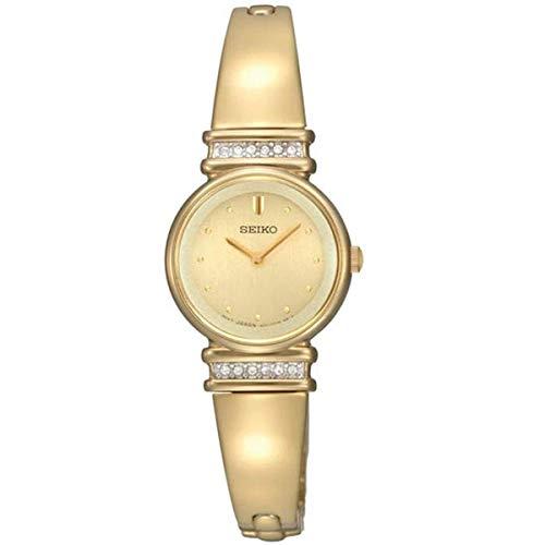 セイコー 腕時計 レディース SUJG34 Seiko Women's SUJG34 Crystal Bangle Champagne Dial Watchセイコー 腕時計 レディース SUJG34