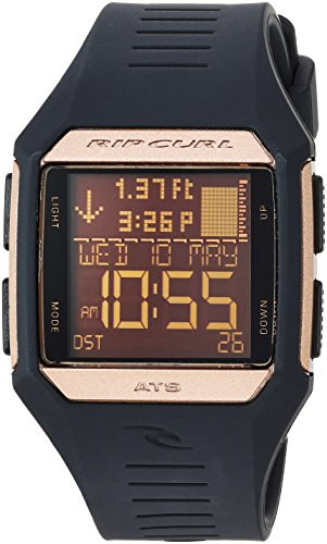 リップカール 腕時計 レディース サーファー サーフィン A1131G-RSG 【送料無料】Rip Curl Women's Maui Mini Quartz Sport Watch with Polyurethane Strap, Black, 0.8 (Model: A1131G-RSG)リップカール 腕時計 レディース サーファー サーフィン A1131G-RSG