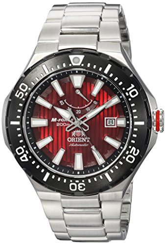 オリエント 腕時計 メンズ SEL07002H0 【送料無料】Orient Men's M-Force Delta Japanese-Automatic Diving Watch with Stainless-Steel Strap, Silver, 25 (Model: SEL07002H0)オリエント 腕時計 メンズ SEL07002H0