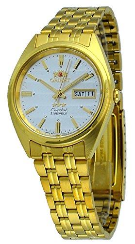オリエント 腕時計 メンズ FAB00008W 【送料無料】Orient #FAB00008W Men's 3 Star Standard Gold Tone Silver Dial Automatic Watchオリエント 腕時計 メンズ FAB00008W
