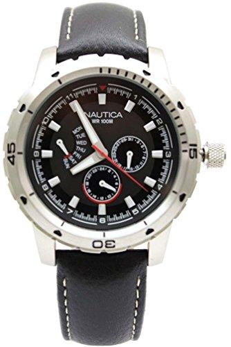 ノーティカ 腕時計 メンズ N15610G Nautica Multifunction NCS 350 Black Dial Men's watch #N15610Gノーティカ 腕時計 メンズ N15610G