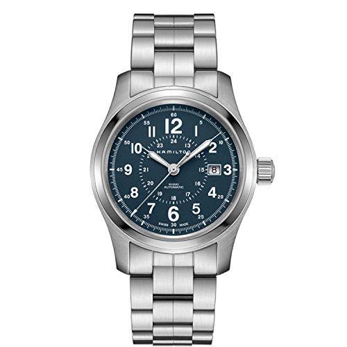 ハミルトン 腕時計 メンズ 【送料無料】Hamilton H70305143 Silver 40mm Stainless-Steel Khaki Field Auto Mens Watchハミルトン 腕時計 メンズ