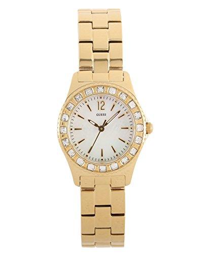 ゲス GUESS 腕時計 レディース Mini Sparkle 【送料無料】Guess W0025L2 Ladies Gold Watchゲス GUESS 腕時計 レディース Mini Sparkle