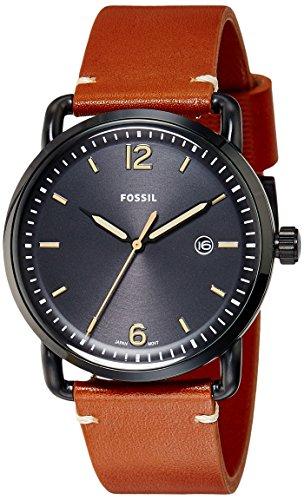 フォッシル 腕時計 メンズ FS5276 Fossil Men's FS5276 The Commuter Three-Hand Date Luggage Leather Watchフォッシル 腕時計 メンズ FS5276