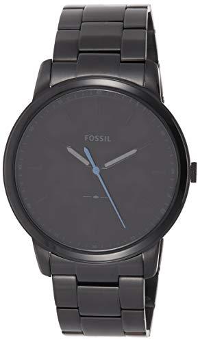 フォッシル 腕時計 メンズ FS5308 【送料無料】Fossil Men's The Minimalist Quartz Stainless Steel Dress Watch, Color: Black (Model: FS5308)フォッシル 腕時計 メンズ FS5308
