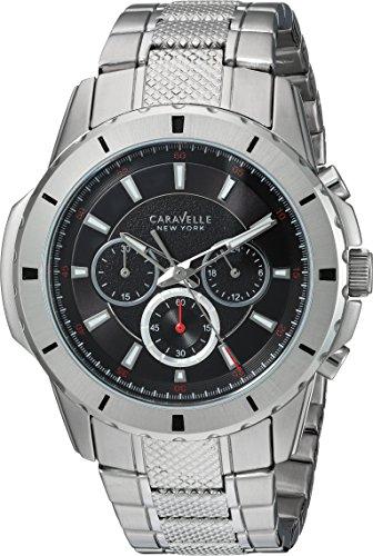 ブローバ 腕時計 メンズ 43A137 【送料無料】Caravelle New York Men's Analog-Quartz Watch with Stainless-Steel Strap, Silver, 24 (Model: 43A137)ブローバ 腕時計 メンズ 43A137