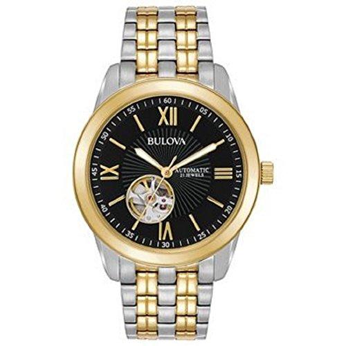 """ブローバ 腕時計 メンズ 【送料無料】Bulova Men""""s Classic Two Tone Watch Model: 98A168ブローバ 腕時計 メンズ"""