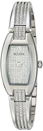 ブローバ 腕時計 レディース 96L235 【送料無料】Bulova Women's 96L235 Swarovski Crystal Stainless Steel Watchブローバ 腕時計 レディース 96L235