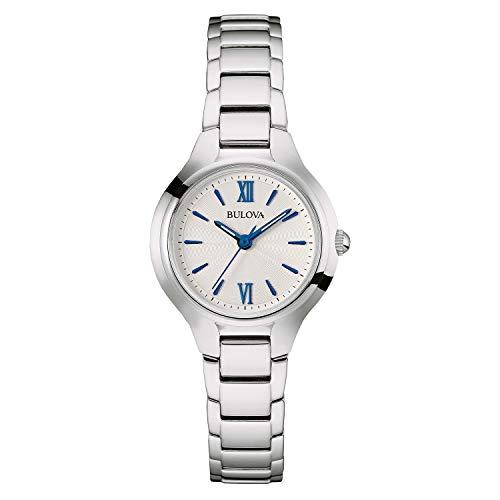 """ブローバ 腕時計 レディース 96L215 【送料無料】Bulova Women""""s 96L215 Analog Display Quartz Silver Watchブローバ 腕時計 レディース 96L215"""