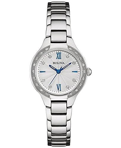 ブローバ 腕時計 レディース 96R208 【送料無料】Bulova 96R208 Women's 26 Diamonds Stainless Steel Bracelet Watchブローバ 腕時計 レディース 96R208
