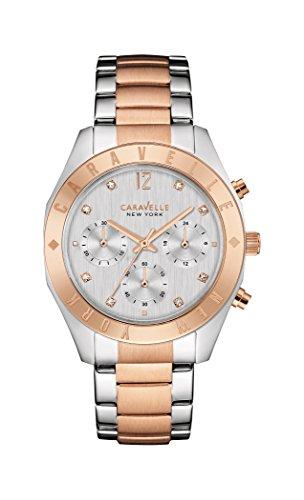 ブローバ 腕時計 レディース 45L156 【送料無料】Caravelle New York Women's Quartz Stainless Steel Dress Watch (Model: 45L156)ブローバ 腕時計 レディース 45L156