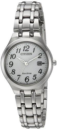 腕時計 シチズン 逆輸入 海外モデル 海外限定 EW2480-59A 【送料無料】Citizen Women's 'Eco-Drive' Quartz Stainless Steel Casual Watch, Color:Silver-Toned (Model: EW2480-59A)腕時計 シチズン 逆輸入 海外モデル 海外限定 EW2480-59A
