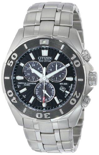 腕時計 シチズン 逆輸入 海外モデル 海外限定 BL5440-58E 【送料無料】Citizen Men's Eco-Drive Signature Chronograph Watch with Perpetual Calendar, BL5440-58E腕時計 シチズン 逆輸入 海外モデル 海外限定 BL5440-58E