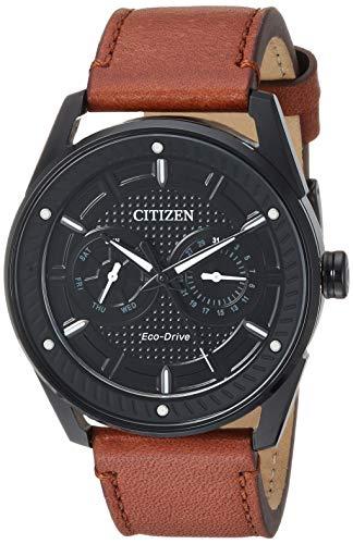 シチズン 逆輸入 海外モデル 海外限定 アメリカ直輸入 BU4025-08E 【送料無料】Citizen Men's Drive Stainless Steel Japanese-Quartz Watch with Leather Calfskin Strap, Brown, 22.2 (Model: Bシチズン 逆輸入 海外モデル 海外限定 アメリカ直輸入 BU4025-08E