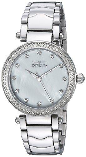 インヴィクタ インビクタ 腕時計 レディース 22193 Invicta Women's Wildflower Quartz Watch with Stainless-Steel Strap, Silver, 18 (Model: 22193)インヴィクタ インビクタ 腕時計 レディース 22193