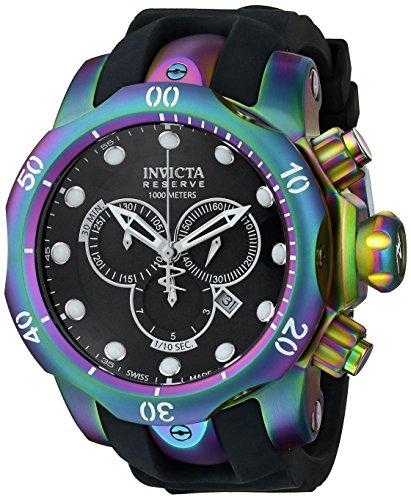 インヴィクタ インビクタ ベノム 腕時計 メンズ 15984 【送料無料】Invicta Men's 15984 Venom Analog Display Swiss Quartz Black Watchインヴィクタ インビクタ ベノム 腕時計 メンズ 15984