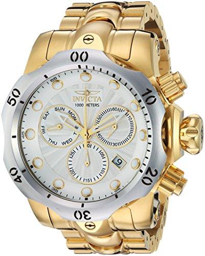 インヴィクタ インビクタ ベノム 腕時計 メンズ 23893 【送料無料】Invicta Men's Venom Quartz Watch with Stainless-Steel Strap, Gold, 26 (Model: 23893)インヴィクタ インビクタ ベノム 腕時計 メンズ 23893