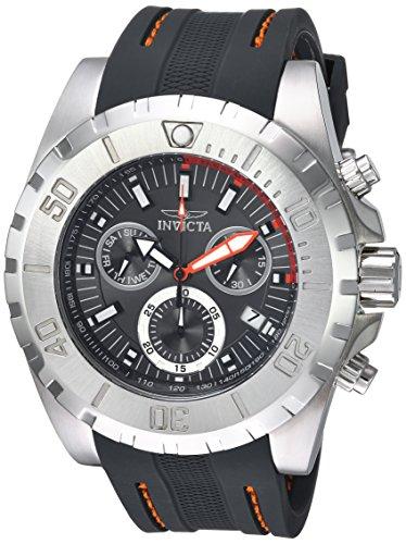 インヴィクタ インビクタ プロダイバー 腕時計 メンズ 24924 Invicta Men's Pro Diver Stainless Steel Quartz Watch with Polyurethane Strap, Grey, 26 (Model: 24924)インヴィクタ インビクタ プロダイバー 腕時計 メンズ 24924
