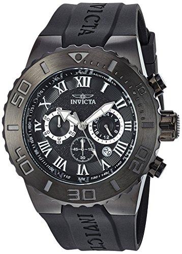 インヴィクタ インビクタ プロダイバー 腕時計 メンズ 24779 【送料無料】Invicta Men's Pro Diver Stainless Steel Quartz Watch with Polyurethane Strap, Black, 30 (Model: 24779)インヴィクタ インビクタ プロダイバー 腕時計 メンズ 24779