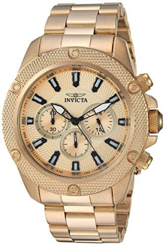 腕時計 インヴィクタ インビクタ プロダイバー メンズ 22720 【送料無料】Invicta Men's Pro Diver Quartz Watch with Stainless-Steel Strap, Gold, 15 (Model: 22720)腕時計 インヴィクタ インビクタ プロダイバー メンズ 22720
