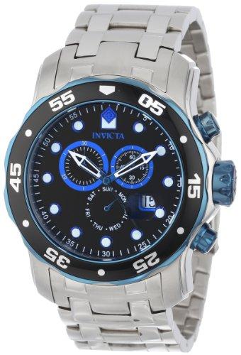 インヴィクタ インビクタ プロダイバー 腕時計 メンズ 80042 【送料無料】Invicta Men's 80042 Pro Diver Chronograph Black Dial Stainless Steel Watchインヴィクタ インビクタ プロダイバー 腕時計 メンズ 80042